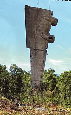 WW II bomber wing.
