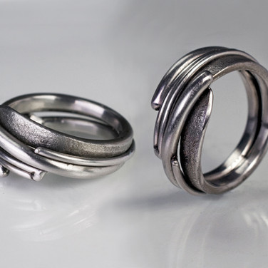 Stainless Composite Ring #1