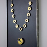 The piece can be displayed when not worn.