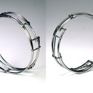 Open Stainless Bangle