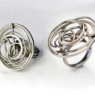 Accreted Stainless Ring.