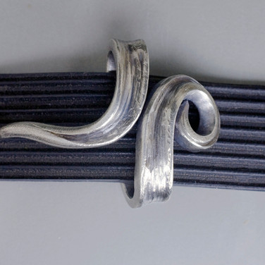 Forged Sterling One-Piece Buckle