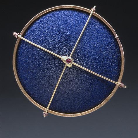 Blue Enamel Truss