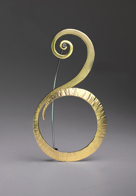 Forged Brass Pin