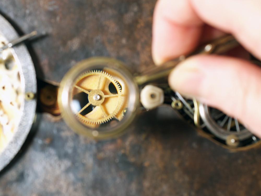 A glimpse through the magnifier.