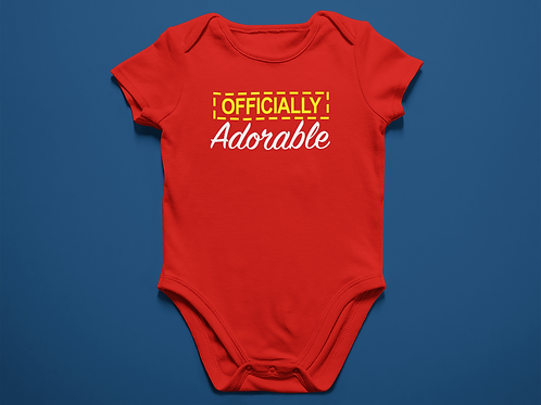 Officially Adorable Onesie