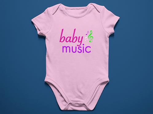 Baby Music Onesie