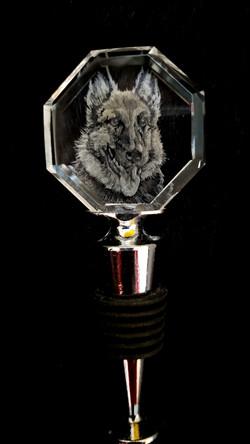 crystal german shepherd winestoppe