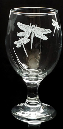 dragonfly stout/drink glass