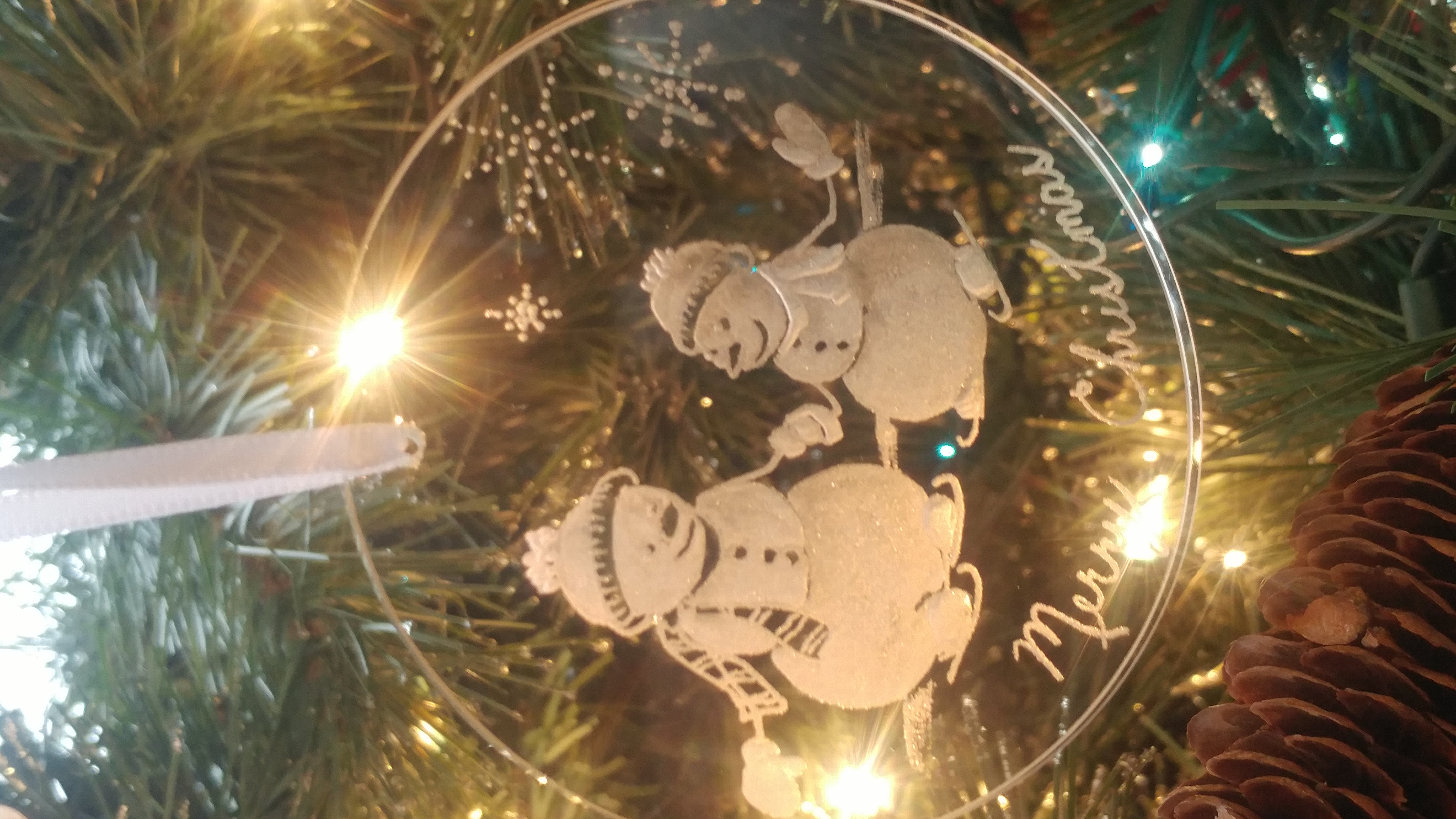 Christmas ornament, snowmen