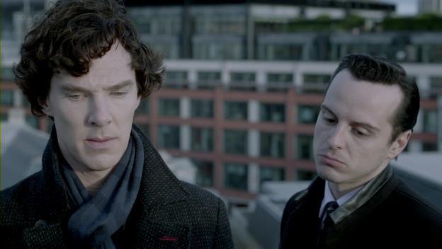 Встреча Шерлока Холмса с профессором Мориарти