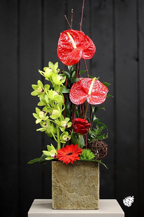 Composition florale de saison