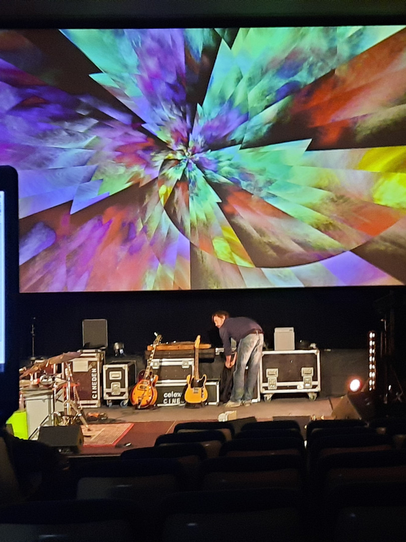 Sound+video check concert Sarah Olivier