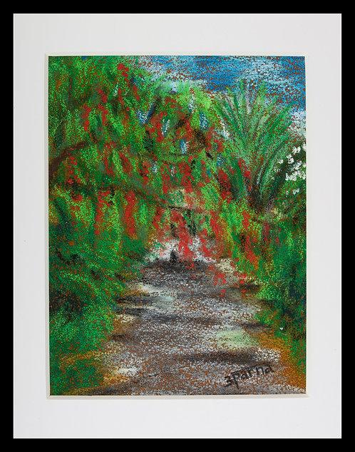Quarry Hill Botanical Garden Path