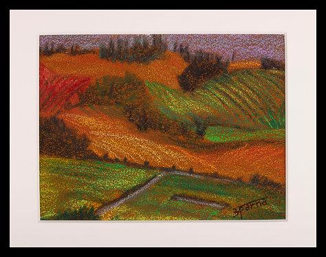Bennet Valley Views in Autumn