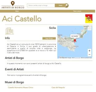 I musei italiani in Artisti di Borgo