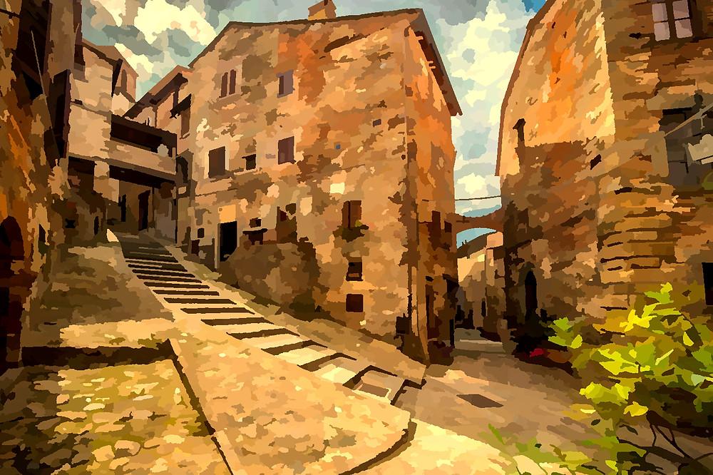 Vernissage di Pittori di Borgo