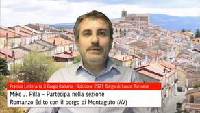 Mike J. Pilla per Montaguto su Premio Letterario il Borgo Italiano TV