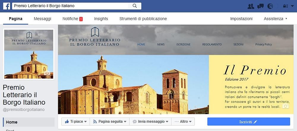 Premio Letterario il Borgo Italiano Facebook