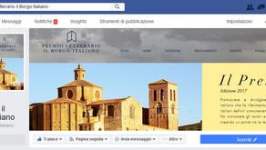 Aperta la pagina Facebook ufficiale del Premio Letterario il Borgo Italiano