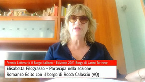 Elisabetta Filograsso per Rocca Calascio su Premio Letterario il Borgo Italiano TV