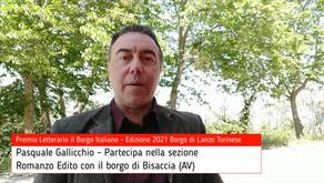 Pasquale Gallicchio per Bisaccia su Premio Letterario il Borgo Italiano TV