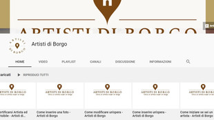 Come utilizzare Artisti di Borgo: i video tutorial