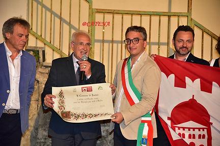 Consegna I Borghi più belli d'Italia