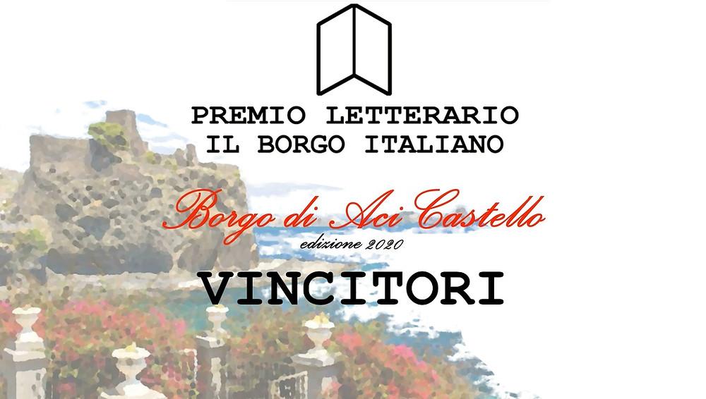 Vincitori del Premio Letterario il Borgo Italiano 2020 - Borgo di Aci Castello