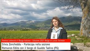 Silvia Zoncheddu per Gualdo Tadino su Premio Letterario il Borgo Italiano TV