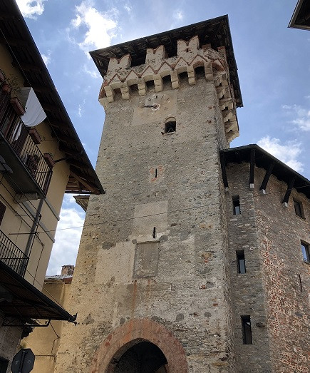 Lanzo Torinese - Torre civica di Aymone di Challant