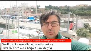 Ciro Bruno Linardo per Procida su Premio Letterario il Borgo Italiano TV