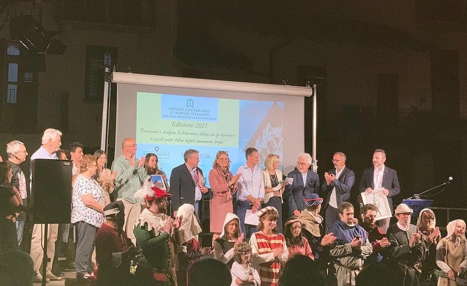 Cerimonia di Premiazione del Premio Letterario il Borgo Italiano 2021 edizione Borgo di Lanzo Torinese