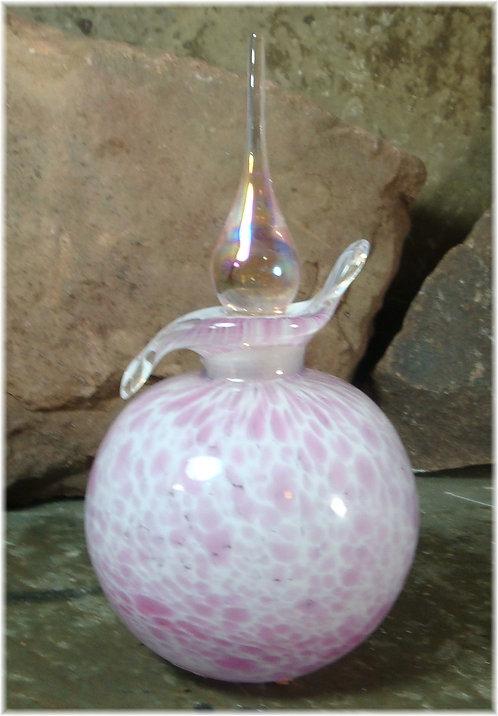 Sacred Amber Perfumed Oil Blown Glass Bottles