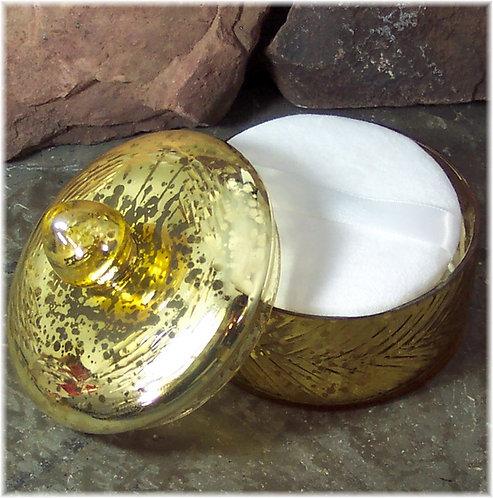 Powder Box Vanity Jar