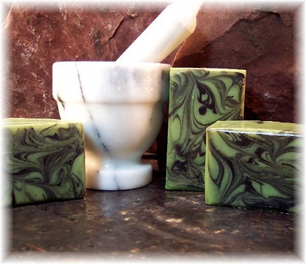 Handmade Soap, Ireland Green Marble