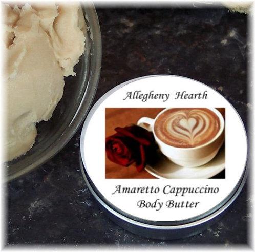 Amaretto Cappuccino Body Butter in 2 oz. Tin