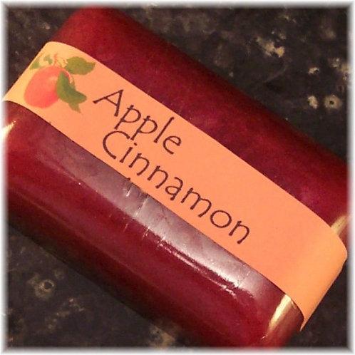 Apple Cinnamon Glycerin Soap Deep Red