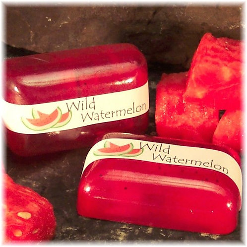 Watermelon Scented Soap Fresh and Summery