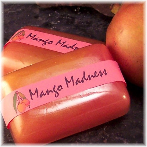 Mango Madness Soap Beautiful Pink and Yellow