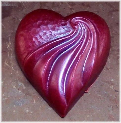Heart Shaped Glycerin Soaps  Valentine Soap