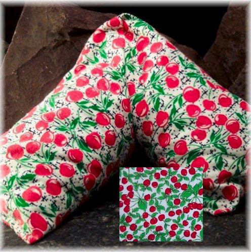 Cherry Pit Heat Pack Cherry Flannel Long Style