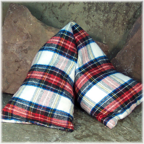 Plaid Soft Flannel Microwavve Heat Wrap