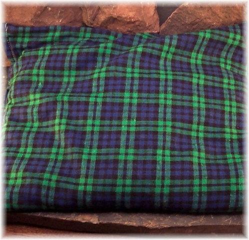 Blue Green Plain Natural Moist Heating Pad