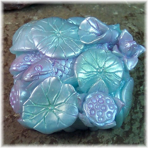 Beautiful Lily Pond Soap