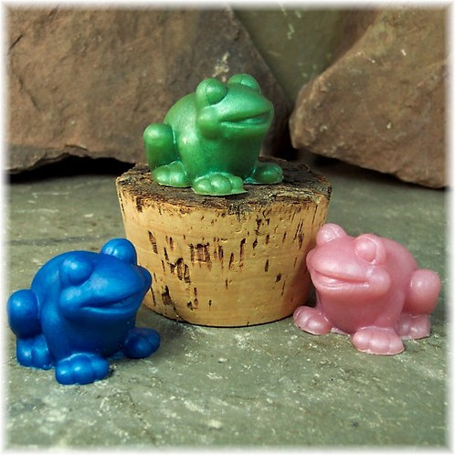 Tub Toads Cute Guest Soaps Set of Three