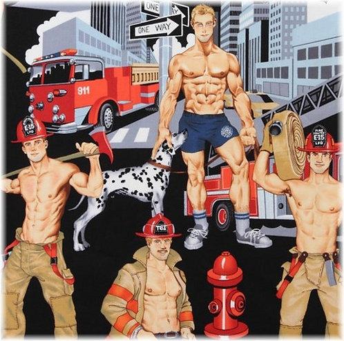 Hot Firemen Cherry Pit Heat Pad