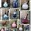 Thumbnail: Sacred Amber Perfumed Oil Blown Glass Bottles