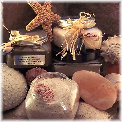 Pink Himalayan Sea Salts Unscented