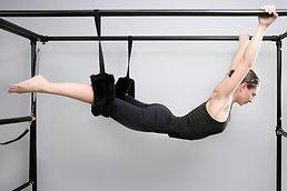 pilates studio, aula de alongamento